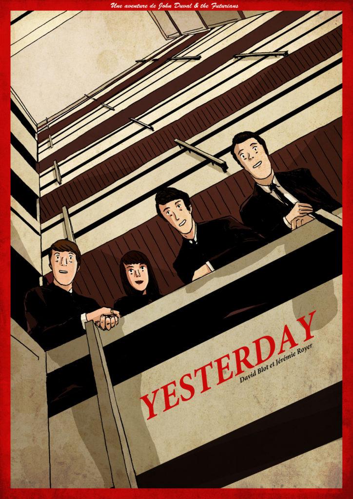 The Beatles, strip Yesterday