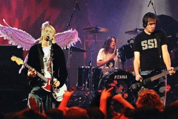 "Nirvana na koncertu ""Live and Loud""/Photo: Wikipedia"
