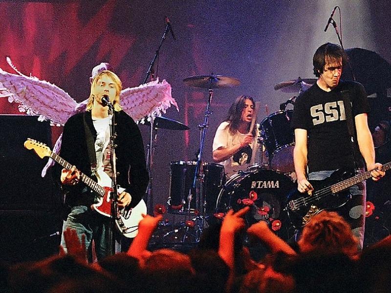 "Nirvana na koncertu ""Live and Loud""/Photo: Wikipedia"
