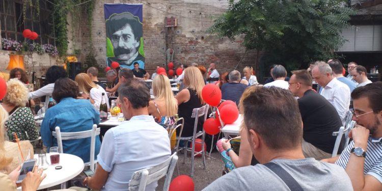 "Igor Marojević, promocija romana ""Tuđine""/Photo: IM promo"