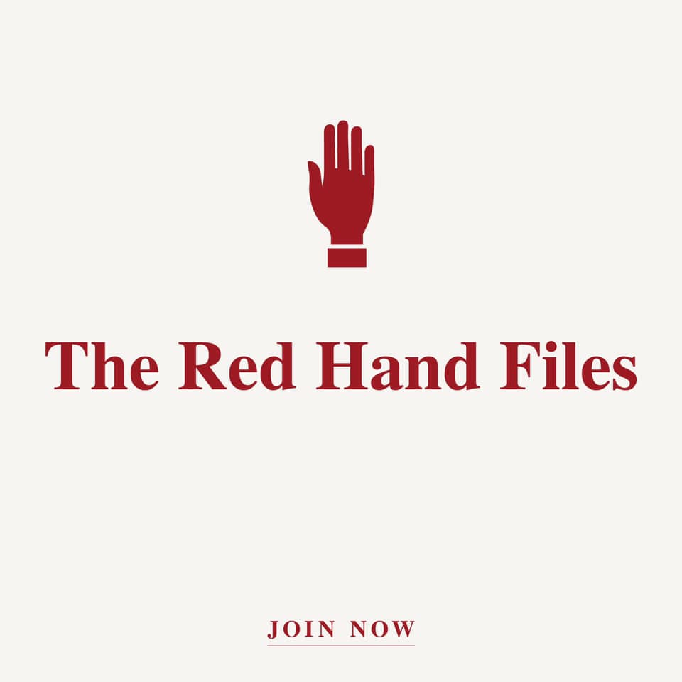 The Red Hand Files cover