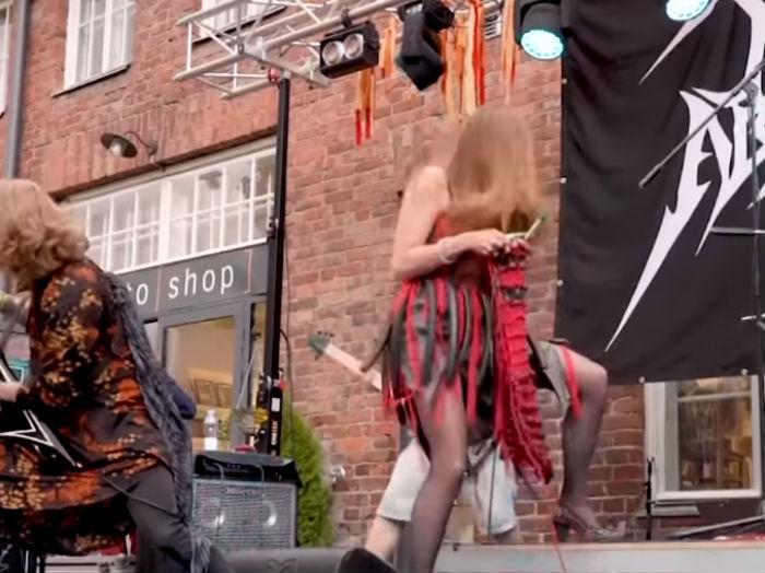 Takmičenje u heavy metal štrikanju/Photo: Facebook printscreen