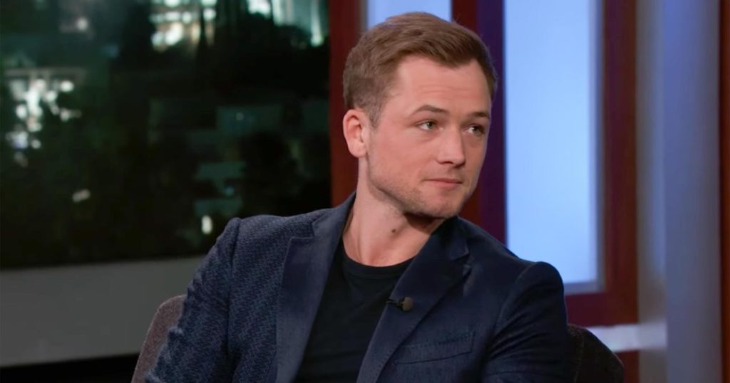 Taron Egerton/Photo: YouTube printscreen