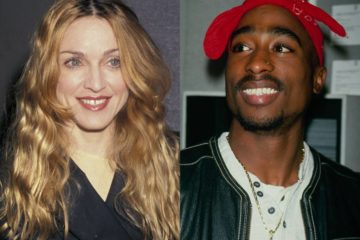 Madona i 2Pac/Photo: Youtube printscreen