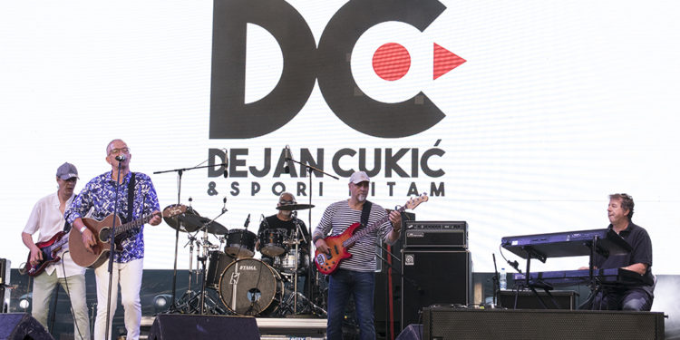 Dejan Cukić i Spori ritam bend (Beer Fest)/ Photo: AleX