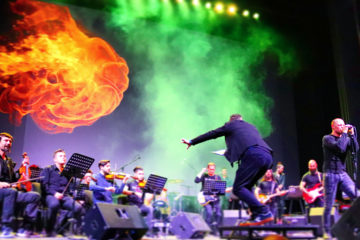 Rock Symphony i Vlatko Stefanovski/ Photo: Promo