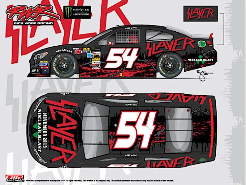 SLAYER NASCAR BOLID BROJ 54
