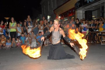 Fire show/ Photo: Promo (Street Art festival)