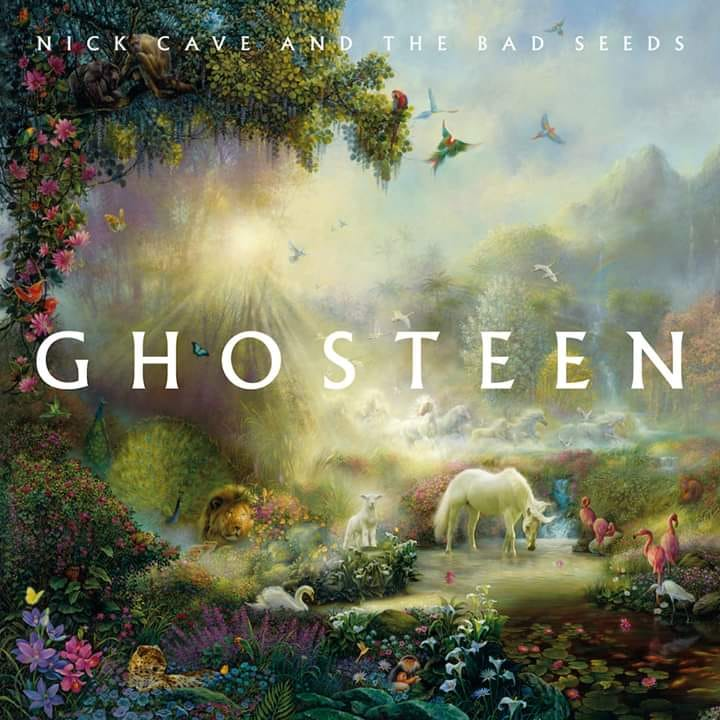 Ghosteen, cover