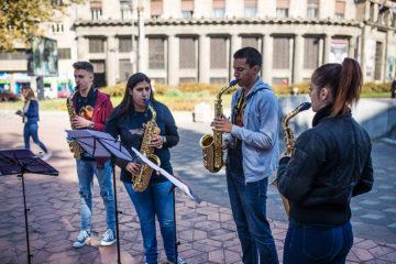 Banda saksofonista/ Photo: Promo