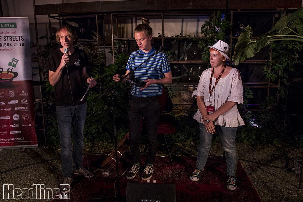 Jernej Mazgon- Džeri, Sir Croissant i Tanja Cvitko/ Photo: AleX