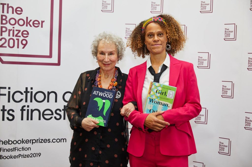 Margaret Atvud i Bernandin Evaristo/Photo: facebook@TheBookerPrizes