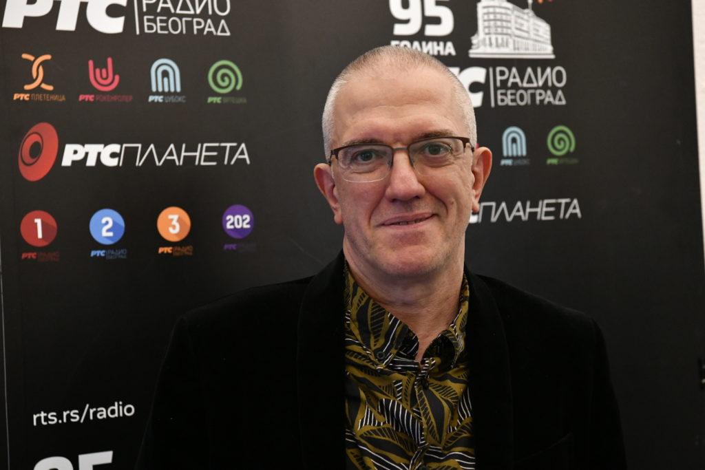 Dejan Cukić, promocija/Photo: Gordan Jović, RTS
