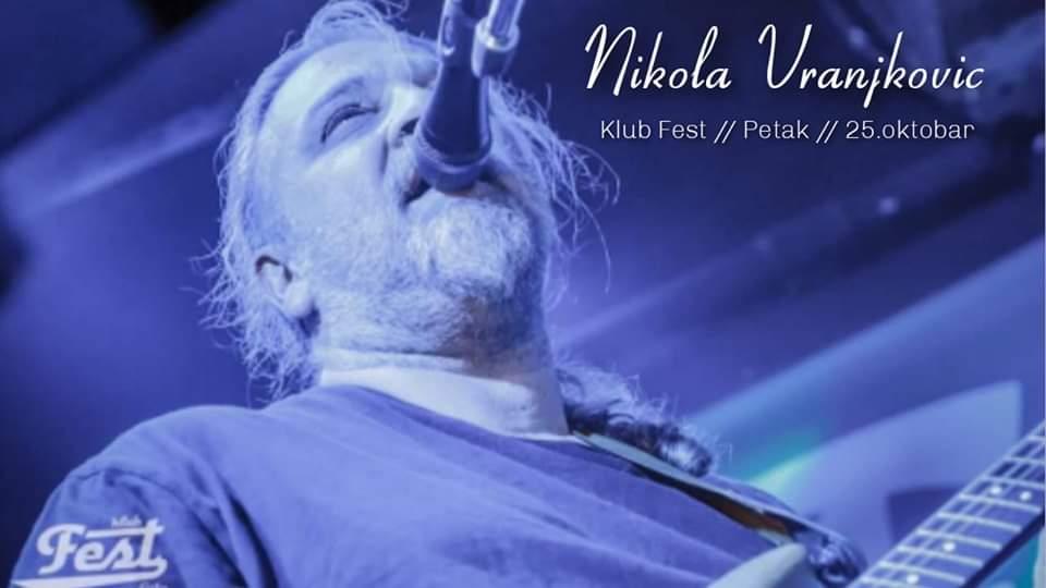 Nikola Vranjković/ Photo; Promo (klub Fest)