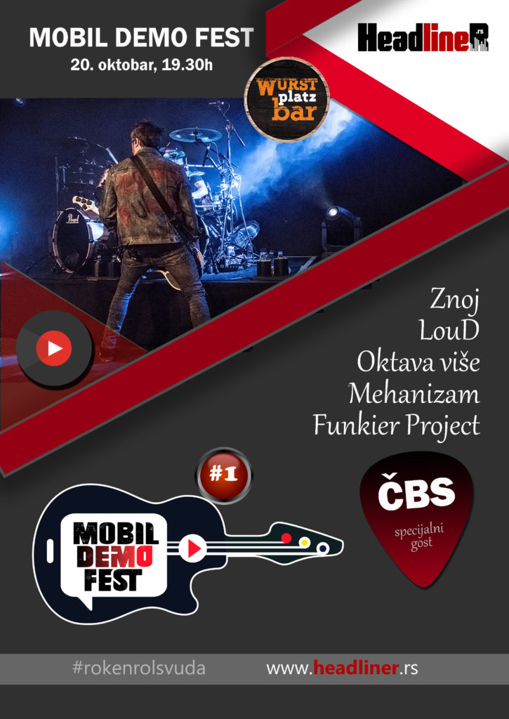 Mobil Demo Fest, plakat