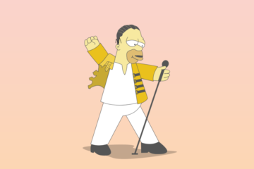 Homer Simpson/Press promo