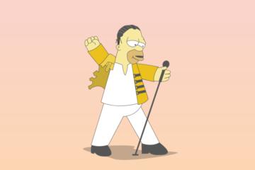 Homer Simpson/Press promo