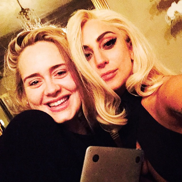 Lejdi Gaga i Adel/Photo: Lady Gaga/Instagram)
