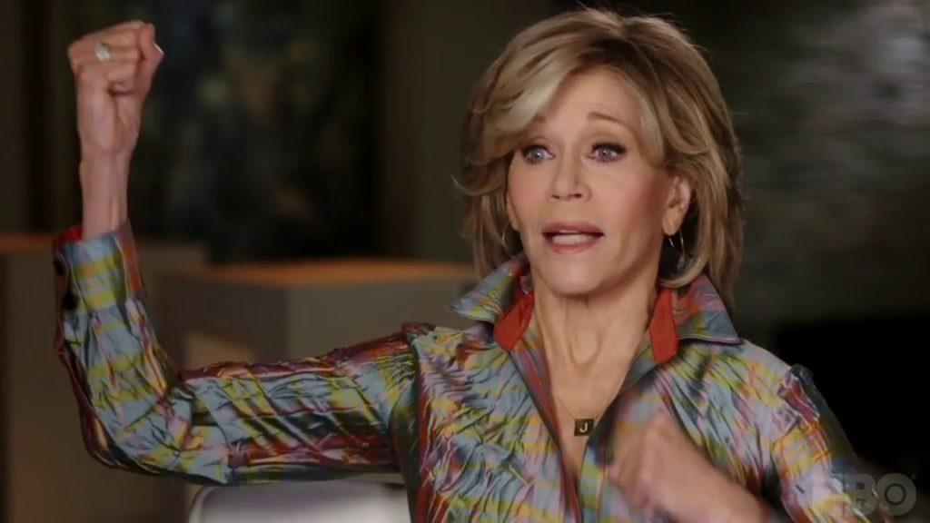 Džejn Fonda/Photo: YouTube printscreen