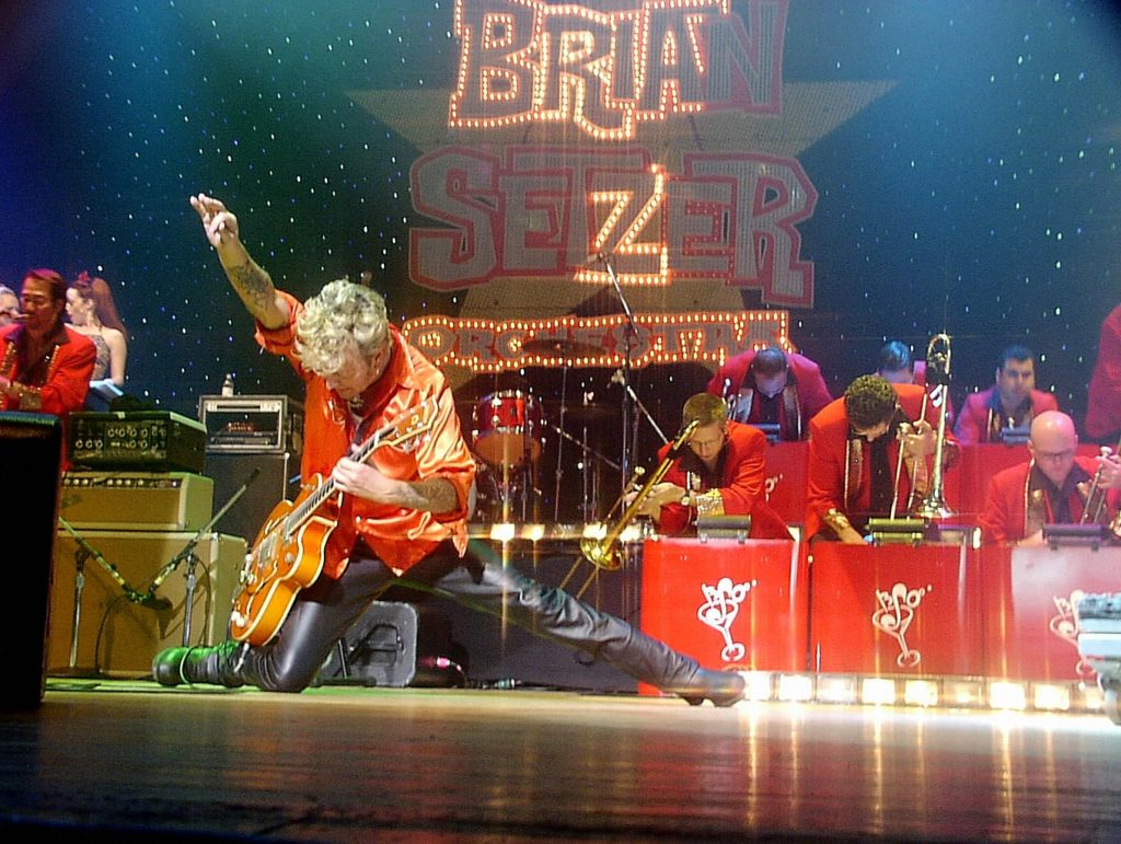 Brajan Secer/Photo: Facebook@briansetzerofficial