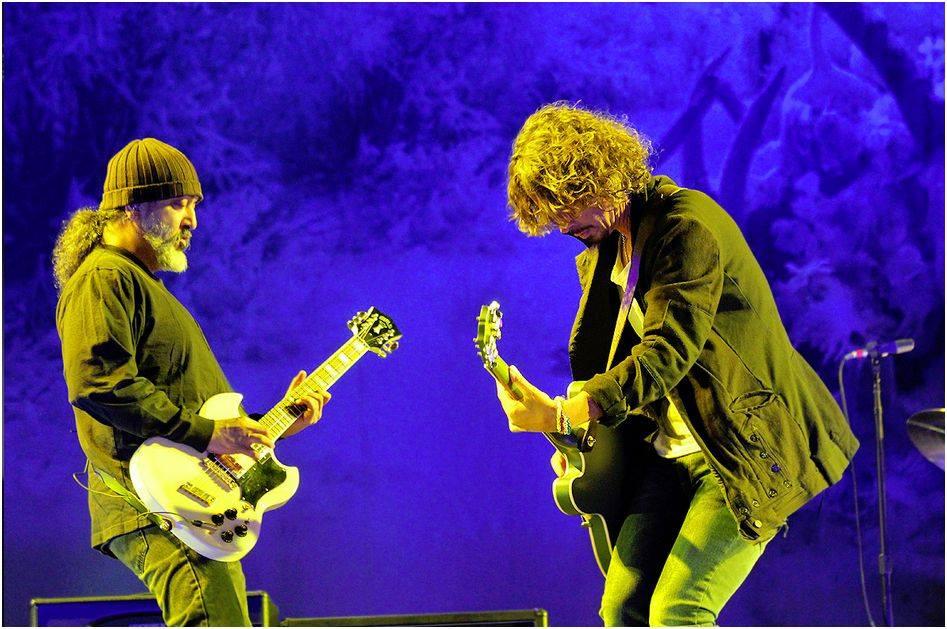 Soundgarden/Photo: facebook@Soundgarden