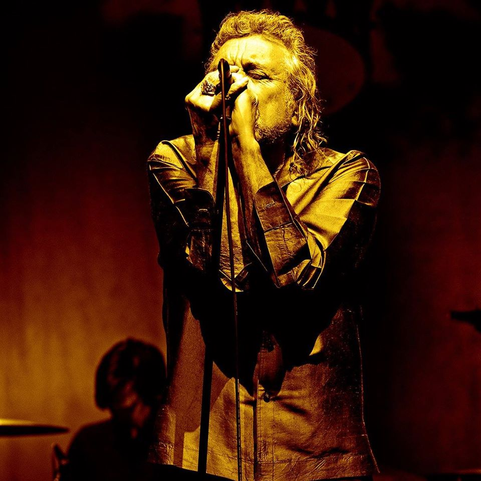 Rober Plant/Photo: facebook@robertplant
