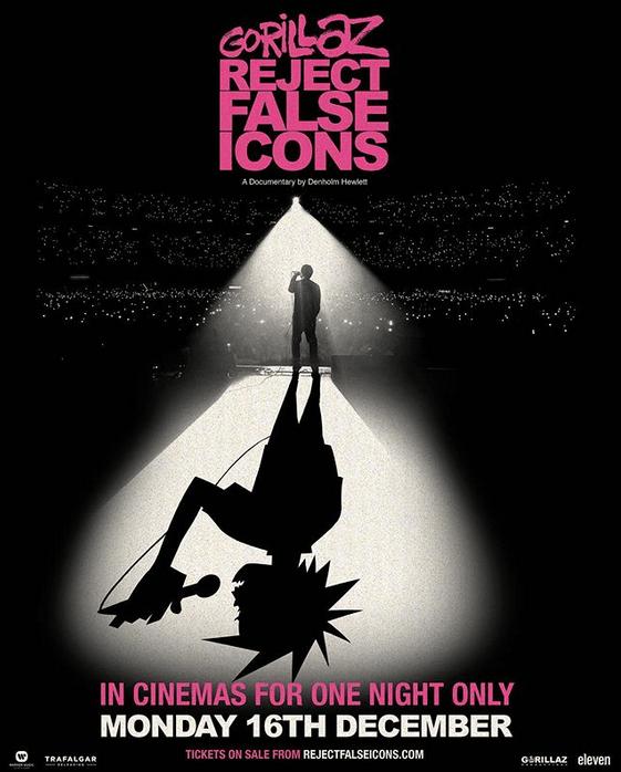 Gorillaz: Reject False Icons, plakat