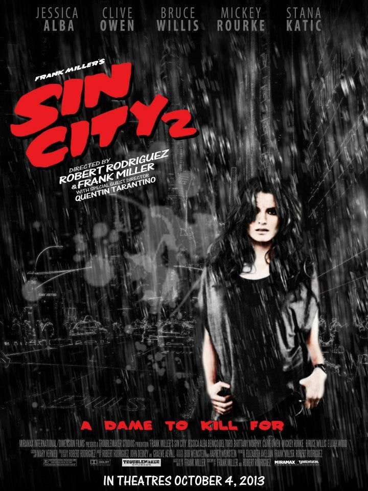 Sin City: A Dame to Kill For, plakat