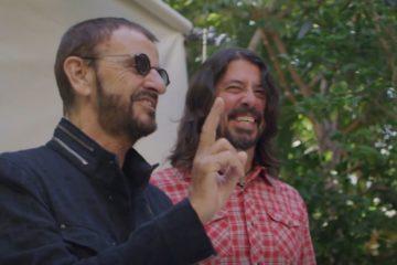 Ringo Star i Dejv Grol/Photo: printscreen