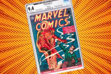 Marvel Comic #1
