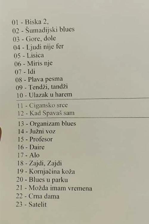 Set lista