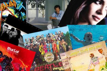 Top 50 albuma, kolaž