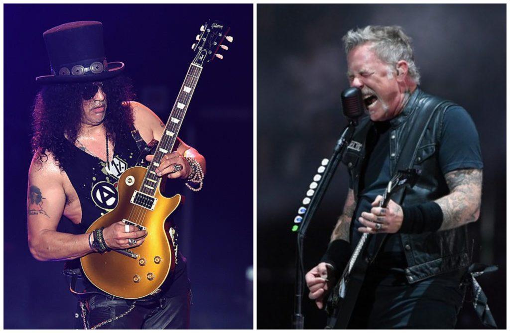 Slash & Metallica/Photo: printscreen BeFunky-collage