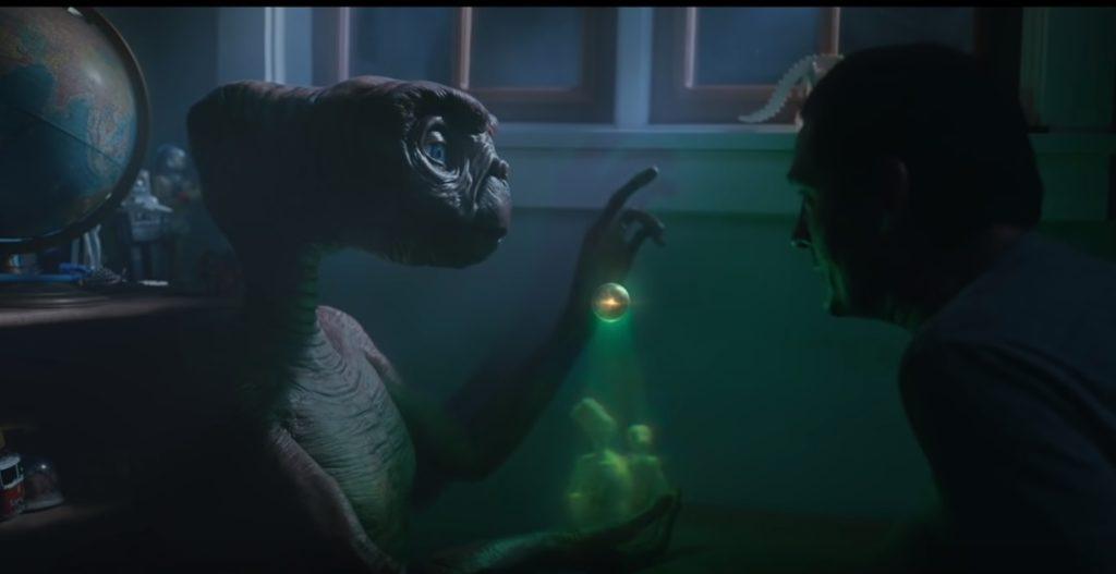 E.T. reklama/Photo: YouTube printscreen