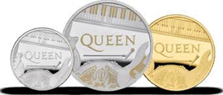 Queen kovanice