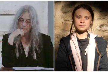 Peti Smit, Greta Tunberg/Photo: facebook/befunky.com