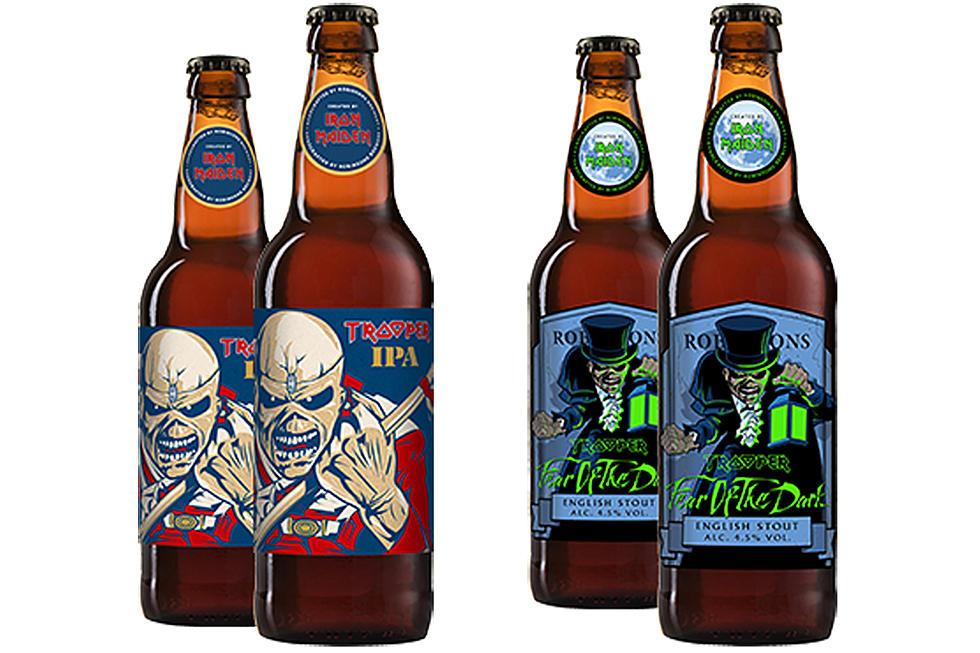 Iron Maiden beer, promo