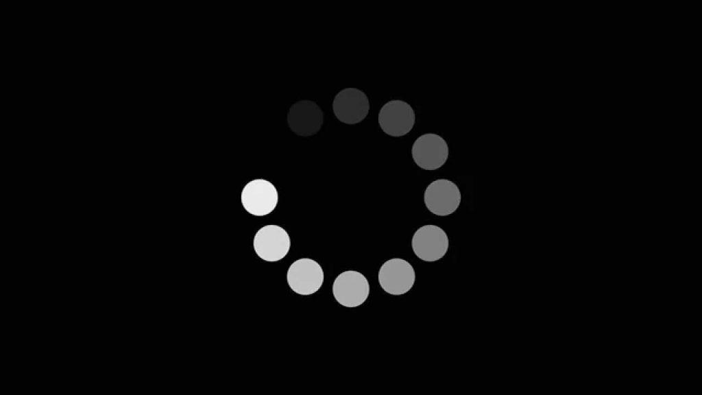 YouTube loading/Photo: printscreen
