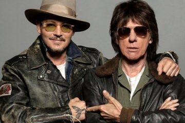 Džoni Dep i Džef Bek/Photo: Promo