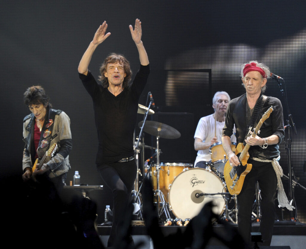 The Rolling Stones/Photo: Brian Rasic/Universal