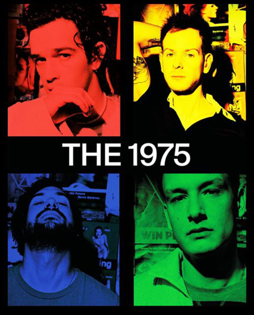 The 1975/Photo: facebook@the1975