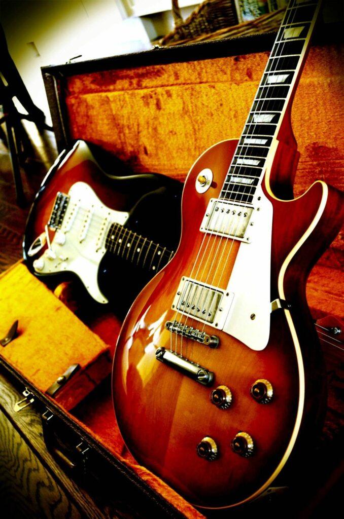 Gibson & Fender/Photo: pinterest