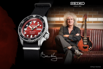 Seiko 5 Sports Brian May Red Special/Promo