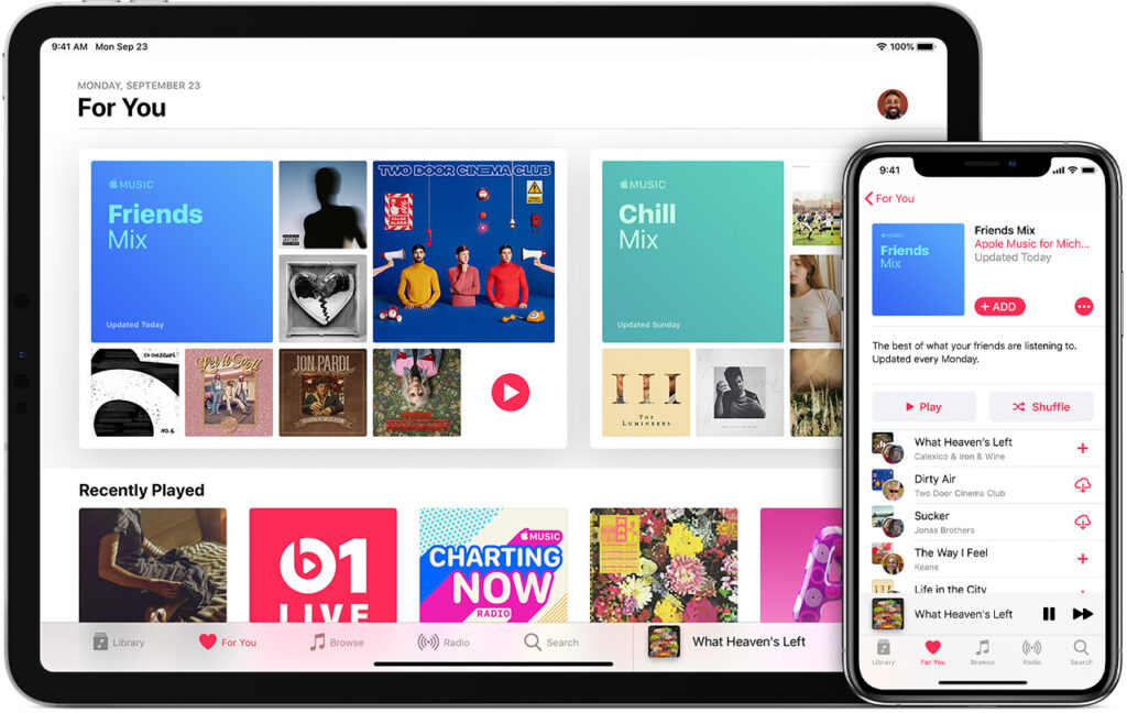 Apple Music/Photo: printscreen