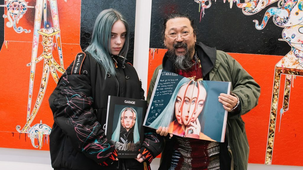 Bili Ajliš, Takaši Murakami/Photo: promo/garage-mag