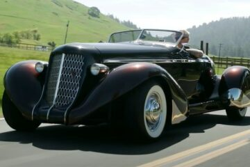Auburn Speedster/Photo: YouTube printscreen