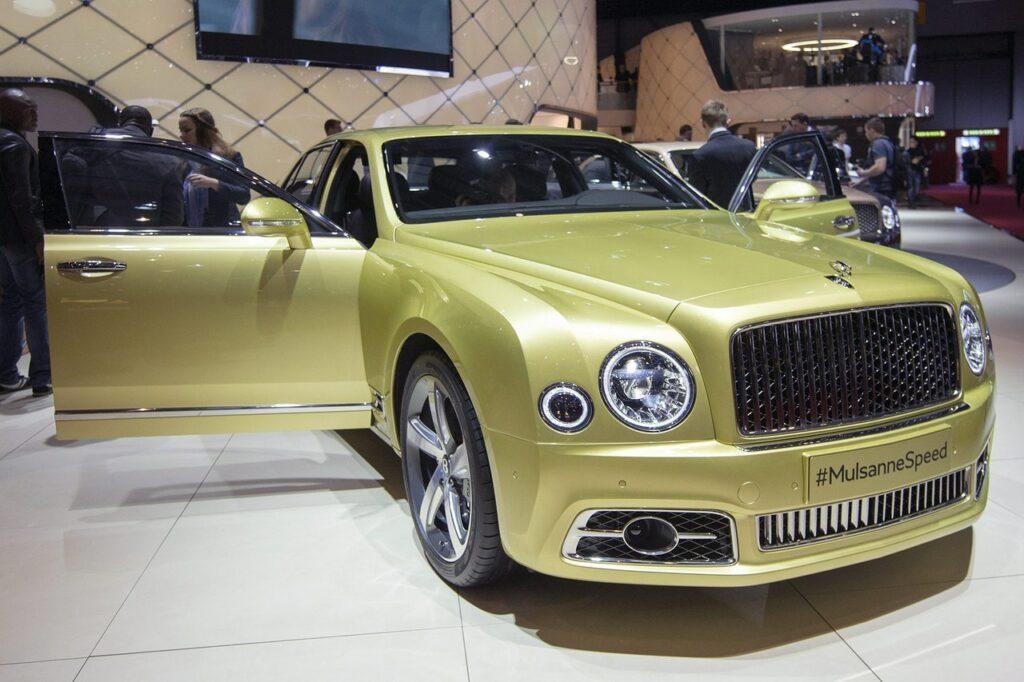 Bentley Mulsanne Speed/Shutterstock