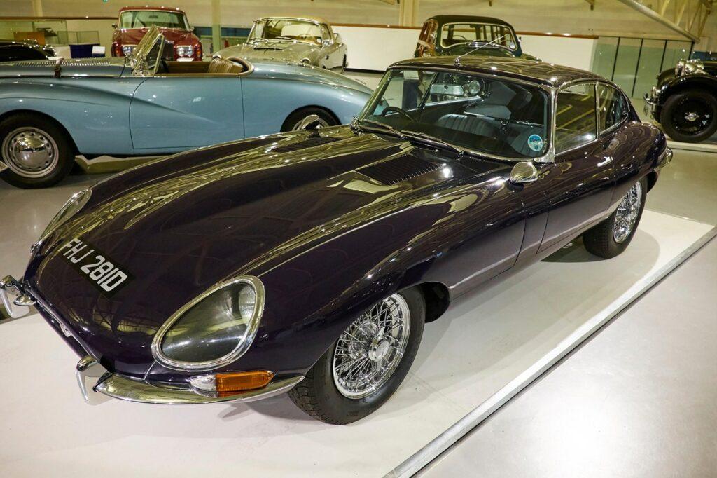 Jaguar E-Type/Alamy Stock Photo