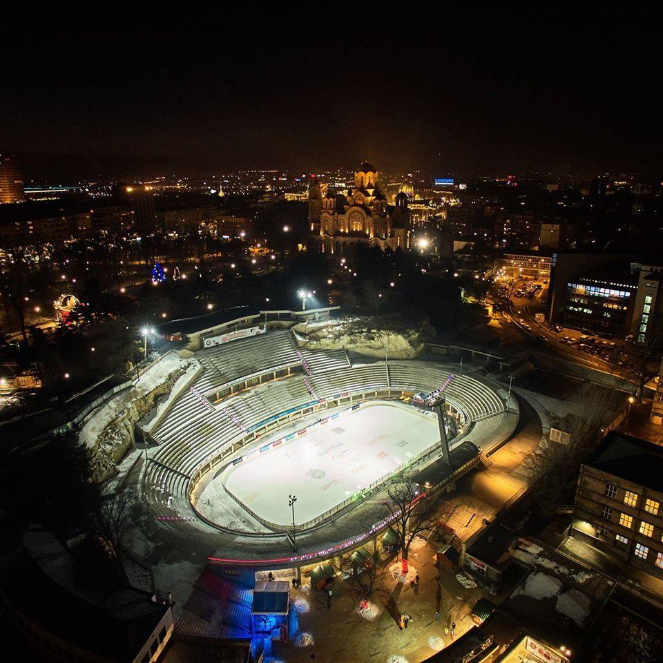 Tašmajdan/Photo: facebook@TasmajdanStadion