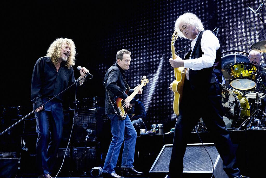 Led Zeppelin/ Photo: Kevin Westenberg (promo, Mascom)